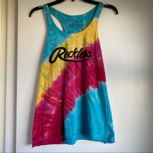 Young & Reckless Tie-Dye Tank Top